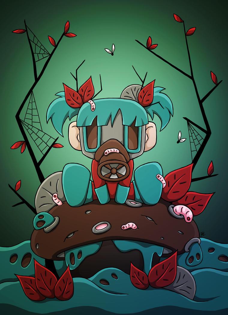 Rotten-girl by Himeija