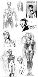 Sketches by armaduk
