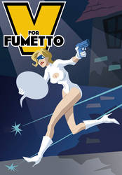 V for fumetto early version by armaduk