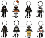 [Open] Black Outfits