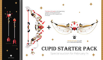 Auction 18 (CLOSED) SPECIAL for Valentine's Day by adlrts