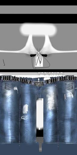 IMVU Jean Texture white by Textures4Free