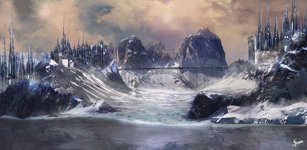 Fantasy landscape by Soma-Nyx