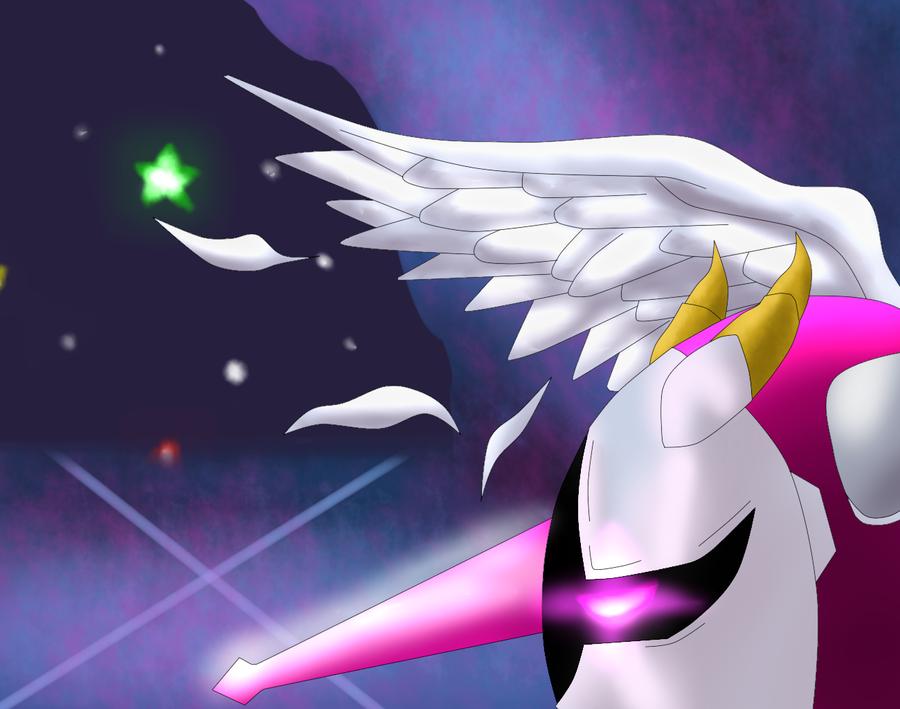 Galacta Knight Wallpaper Galacta knight by scheve94