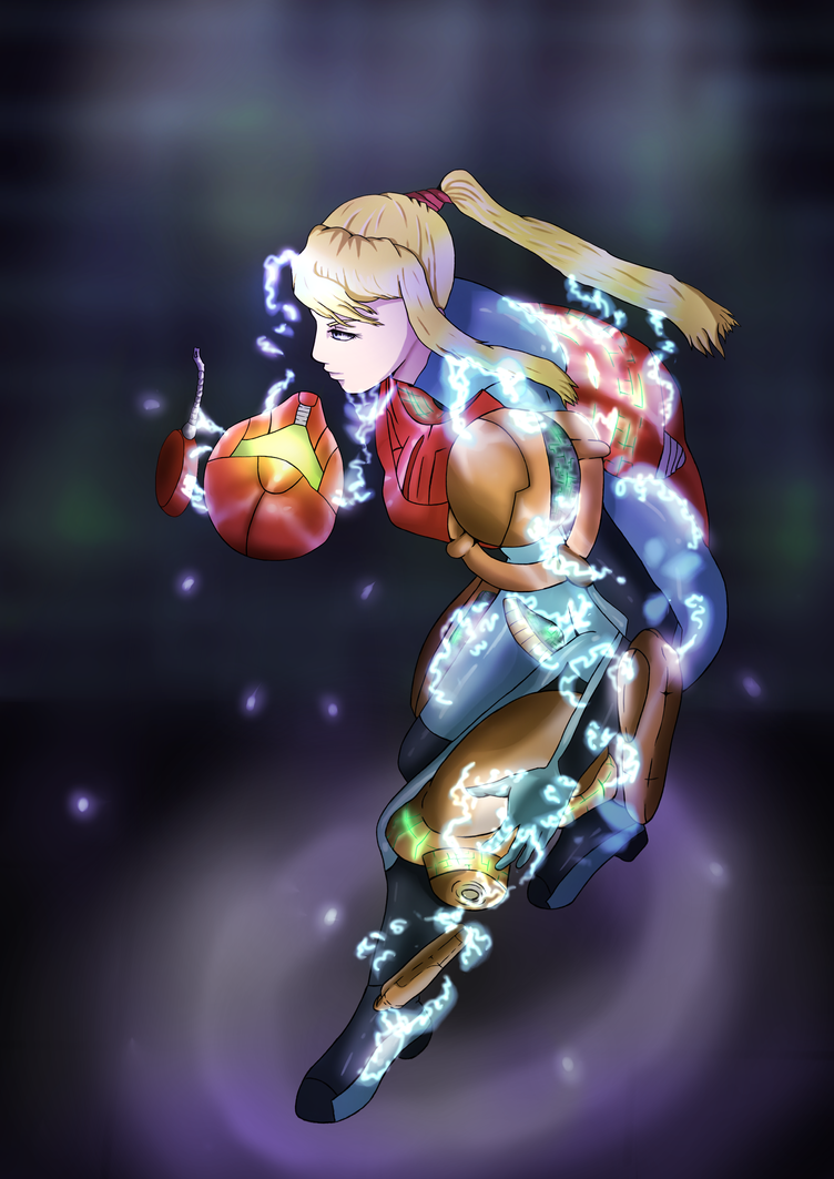 Metroid-SSBB - Shed your Shell by Scheve94