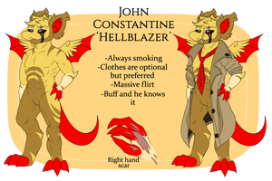 [Wyngro] Constantine Magic Reference