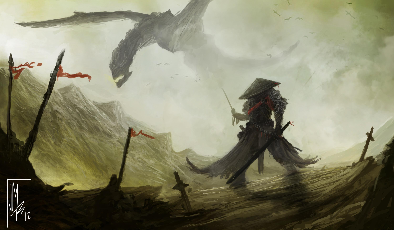 Dragon Samurai By Thatnickid On Deviantart