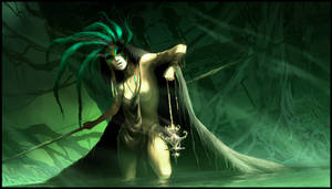 sorceress of the swamp