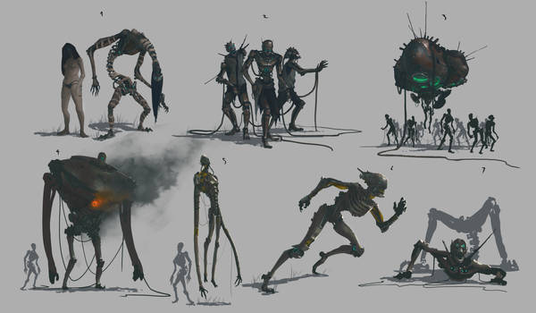 Robot zombies character sheet