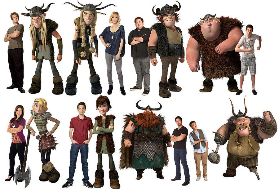 Httyd characters voiceactors by rhodestwins on deviantart httyd characters voiceactors by rhodestwins ccuart Image collections