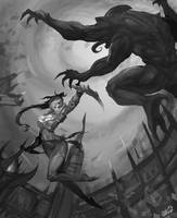 Dark Arena by Z-Roger
