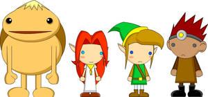 Zelda Character Dollies