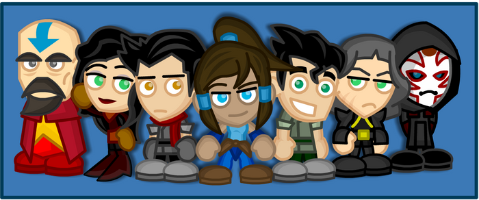 Chibi Legend of Korra