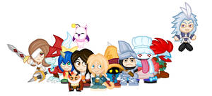 Chibi Final Fantasy IX by LegendaryFrog
