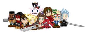 Chibi Final Fantasy VII