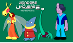 Wonders: Some Background Characters by LegendaryFrog