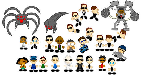 Matrix Chibis