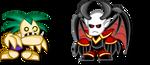 Chibi Warcraft 3: Ghoul + Dreadlord by LegendaryFrog