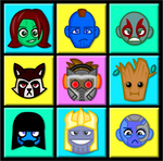 Chibi Guardians of the Galaxy