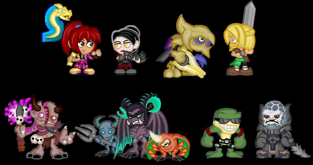 Chibi Killer Instinct: Season 3 by LegendaryFrog