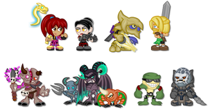 Chibi Killer Instinct: Season 3 by LegendaryFrog