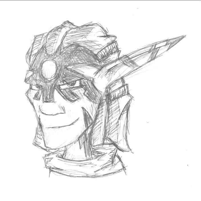 Jak II: Torn Sketch By LegendaryFrog On DeviantART