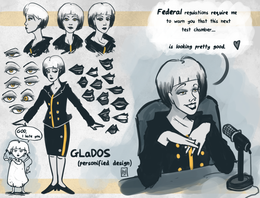 GLaDOS Designs by Spikings