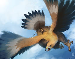 LotL - Giant Eagle by Spikings