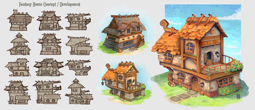 Fantasy House Concepts