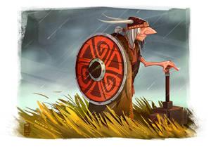 Elderly Viking - Character Challenge