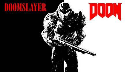 Doom Wallpaper by deviantmorales