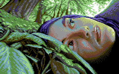 whispers of the forest - commodore 64 gfx (koala)