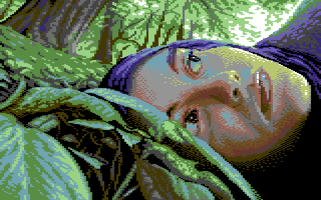 whispers of the forest - commodore 64 gfx (koala) by jokov