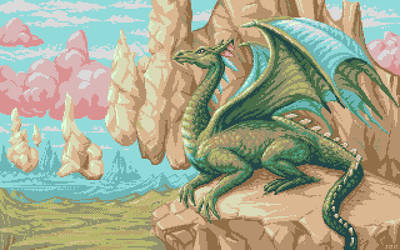 Yanartas (dragon picture 3) by jokov