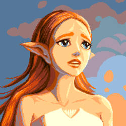 Pixelart - Princess Zelda