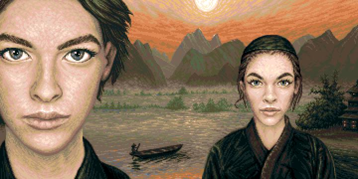 Pixelart  'Siblings' (32 colors)