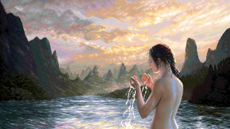 Pixel art - A glimpse of freedom