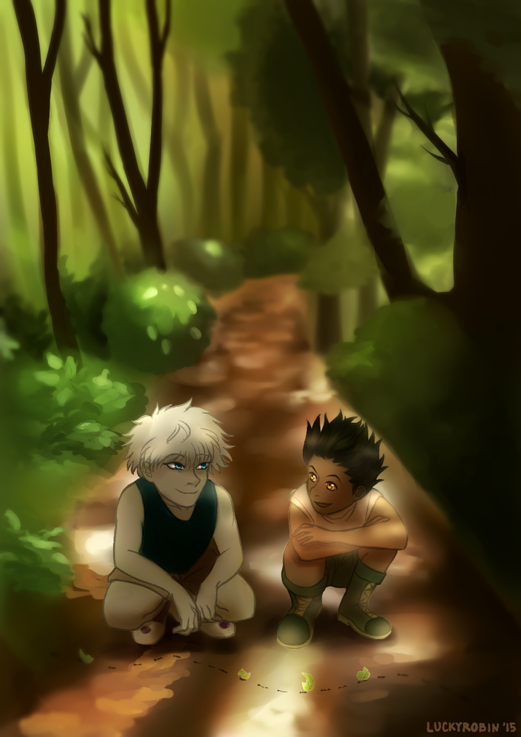 HxH Forest by Clashe
