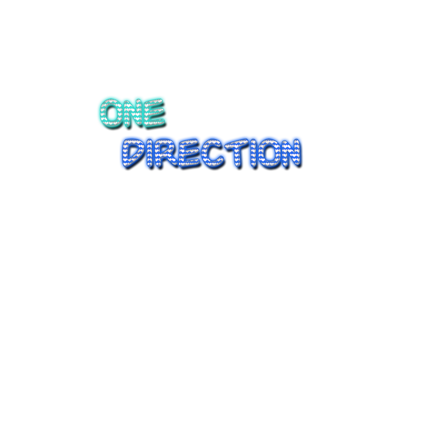 Texto PNG de One Direction by johikapa2011