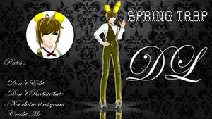 [MMD]Springtrap +DL by OLOKL