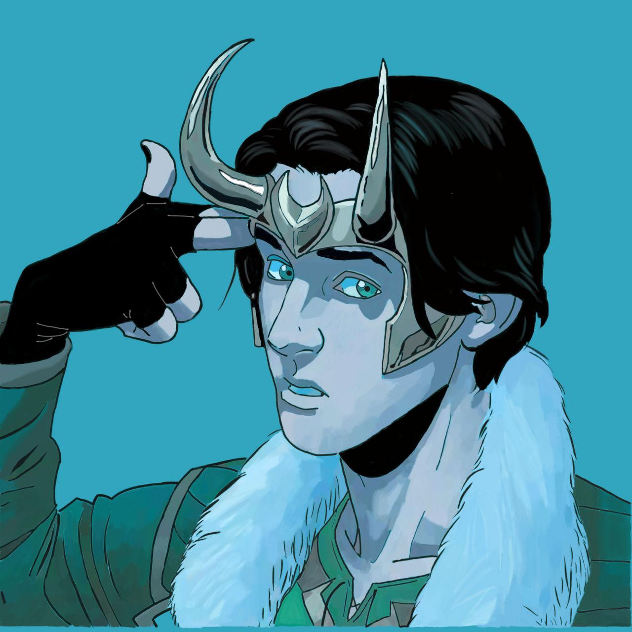 Teenage Loki- Marvel Comics
