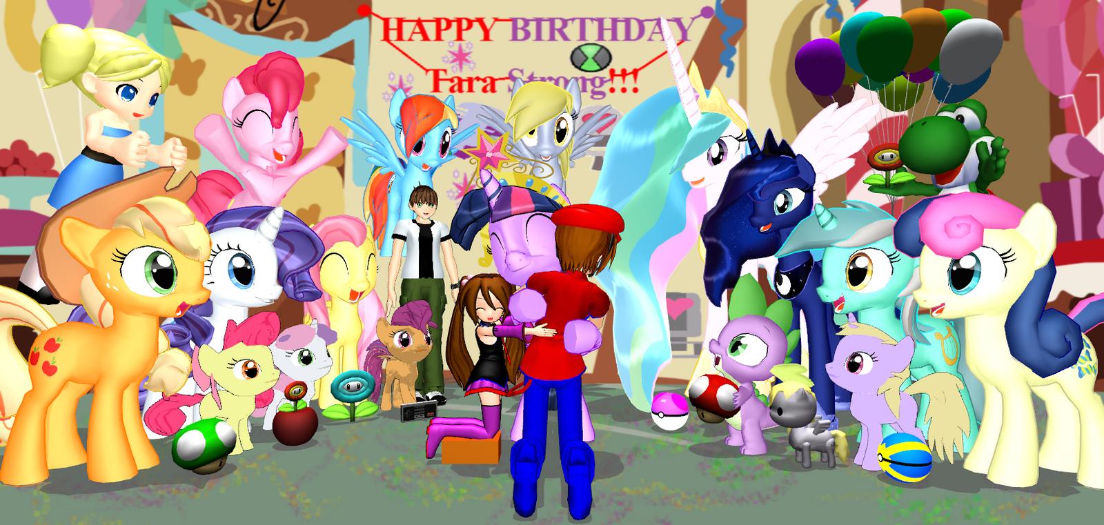 Happy Birthday, Tara Strong!!! (Feb. 12, 2014) by Mario-McFly