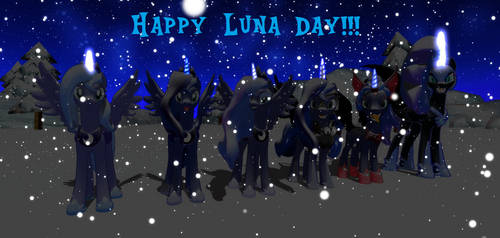 The Many Looks of Luna In MMD, Take 2 by Mario-McFly