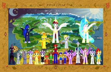 Happy New Year from Equestria and Beyond!!! (2019) by Mario-McFly