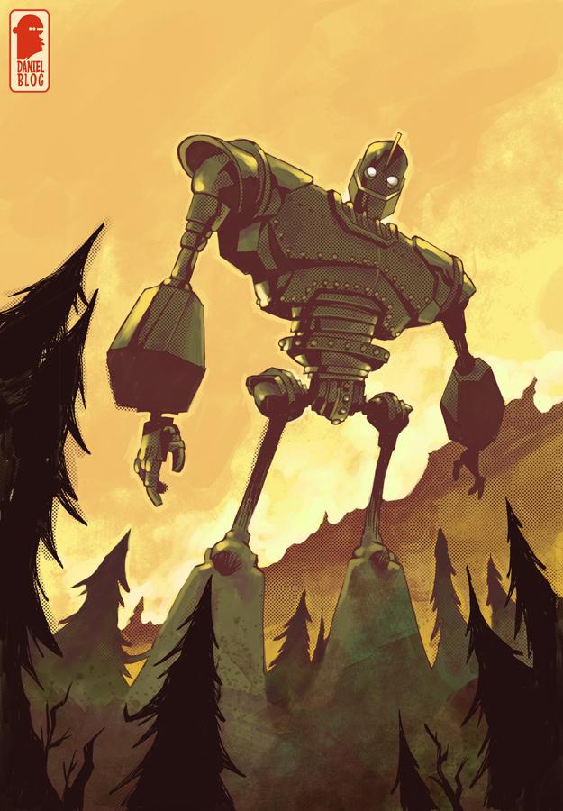 Iron Giant By Nelsondaniel On Deviantart