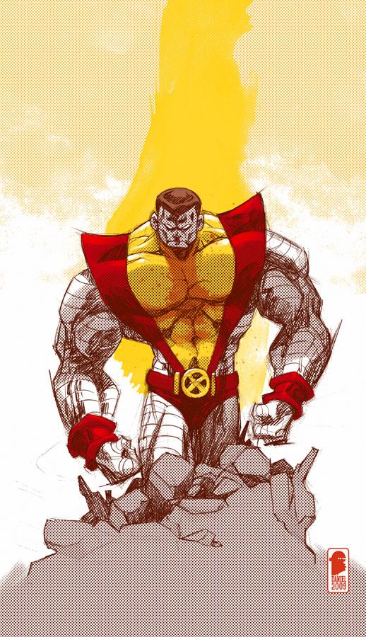 Colossus sketch by nelsondaniel