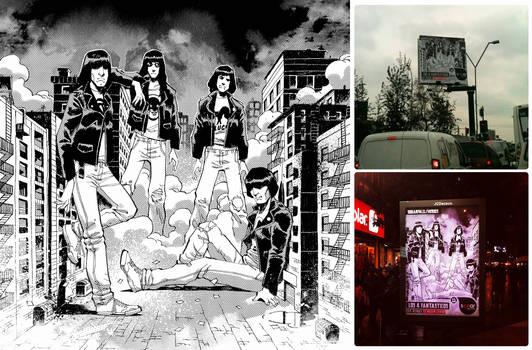 Fantatic Four- The Ramones