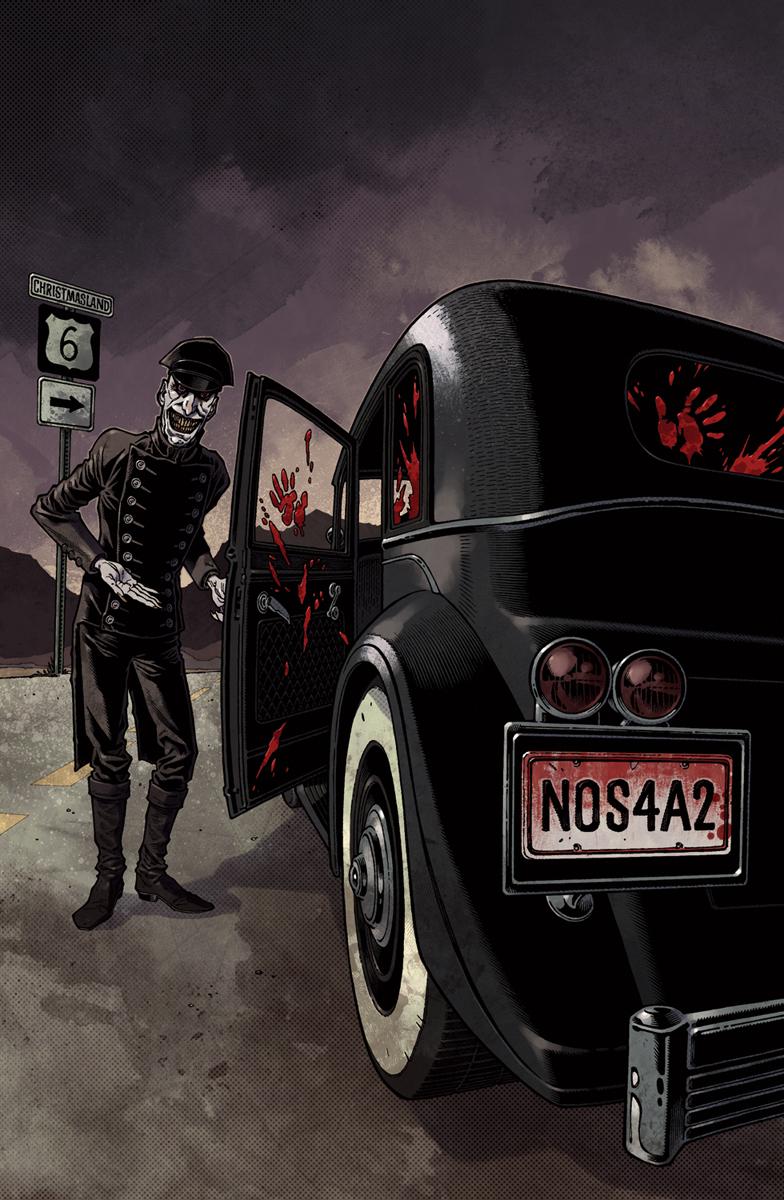 Wraith 1 Cover color by nelsondaniel