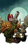 Judge Dredd #1 Carlos Ezquerra color cover