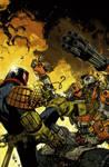 Judge Dredd cover #3 color